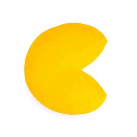 Cojín Pac-man amarillo
