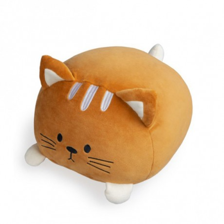 Cojín Kitty marrón