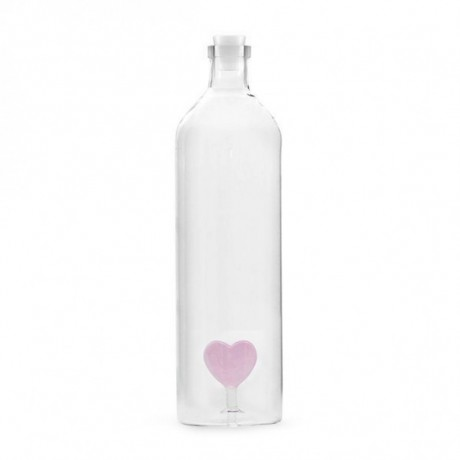 Botella corazón