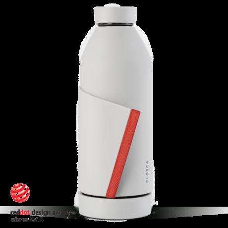 Closca Bottle White/Coral