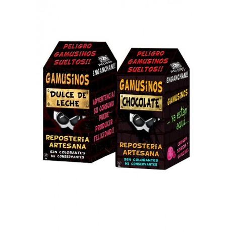 Gamusinos de chocolate