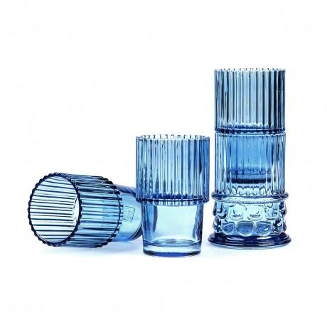 Hestia Set de vasos azules