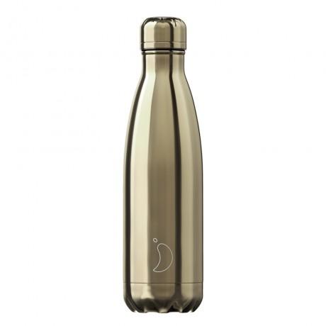 Chillys Bottles Chrome Gold