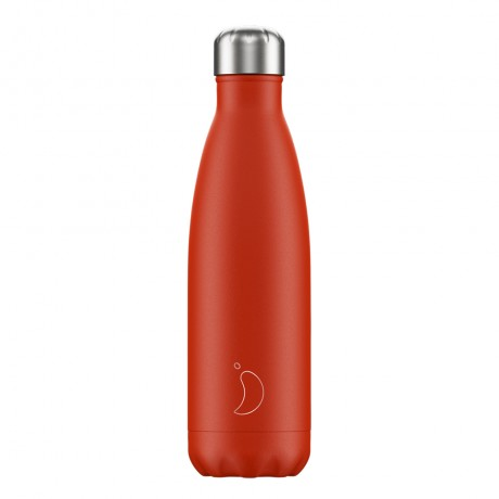 Chillys Bottles Neon Red