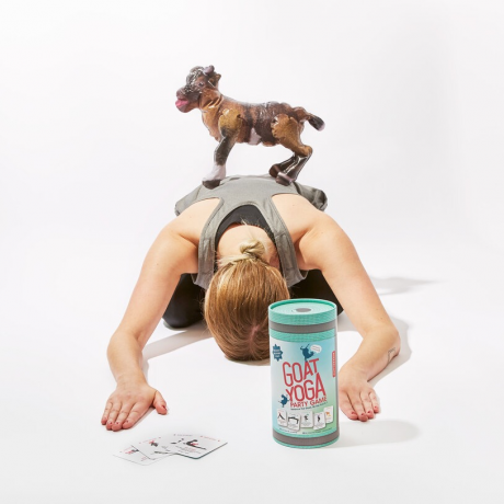 Juego cabra yoga