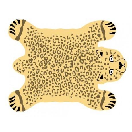 Mantel individual leopardo