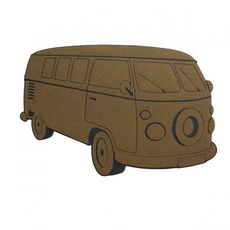 Felpudo Van marrón
