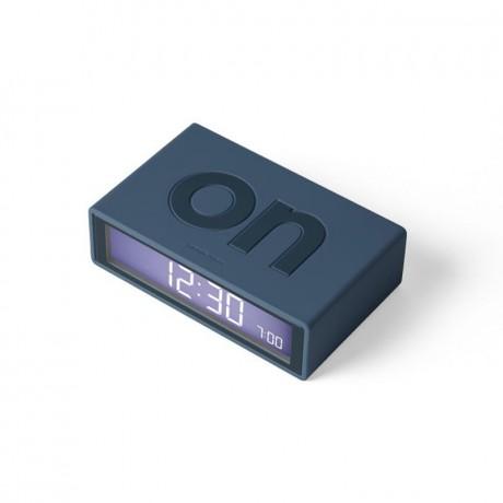 Reloj despertador Flip azul