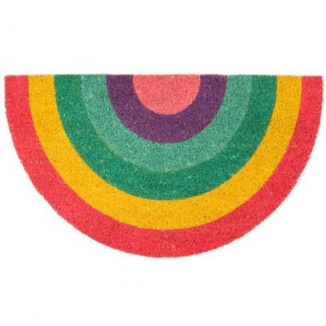 Felpudo arco iris