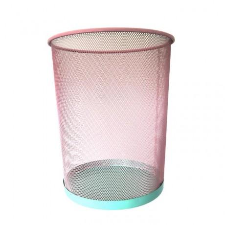 Papelera rosa