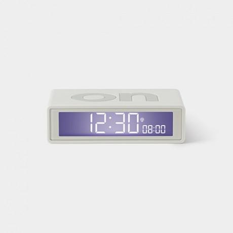 Reloj despertador Flip blanco