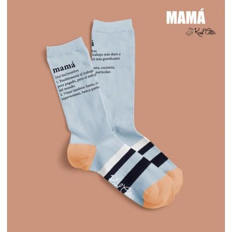 """Calcetines de chica """"Mamá"""""""