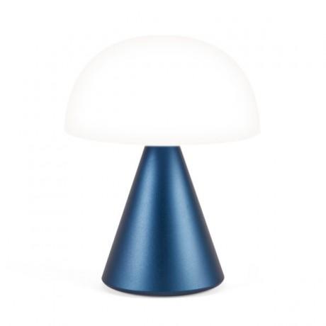 Lámpara Mina L, azul oscuro
