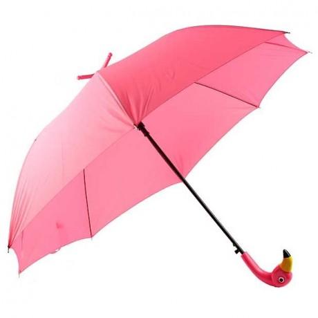 Paraguas flamingo