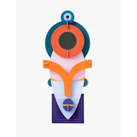 Mascara Deluxe Lamu 60cm