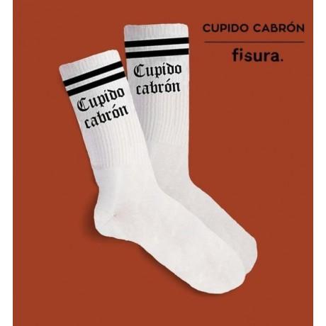 """Calcetines """"Cupido Cabrón""""..."""