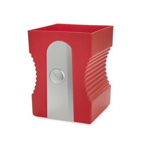 Papelera Sharpener roja